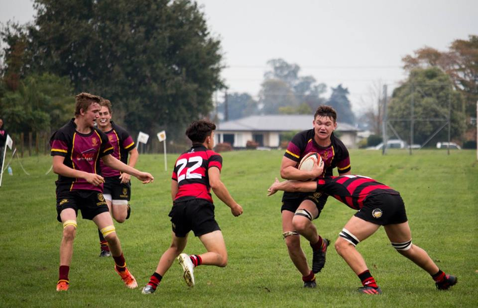 Rugby Union Waikato Secondary School Sport